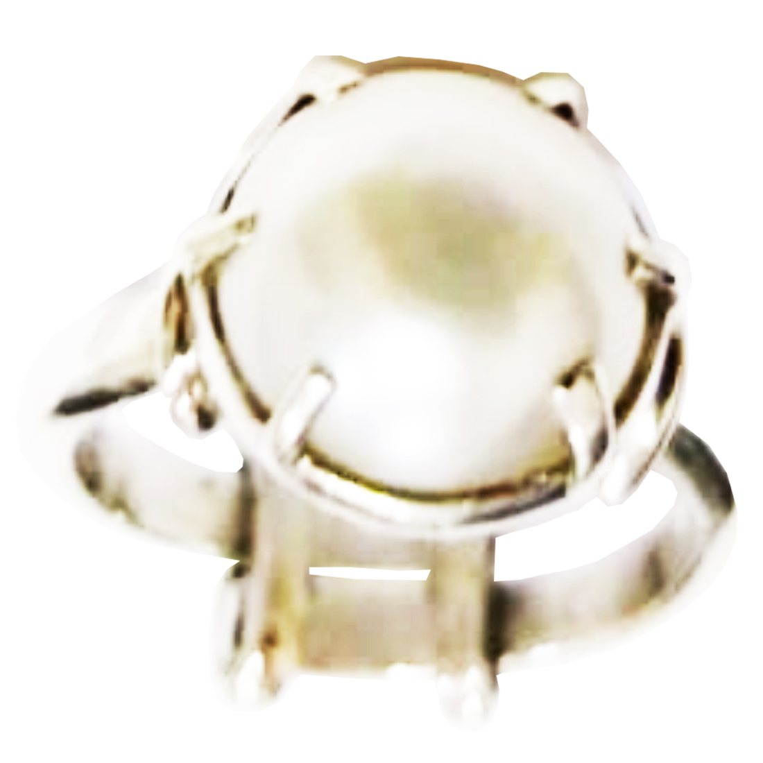 Moti (Pearl) Ring (Silver)